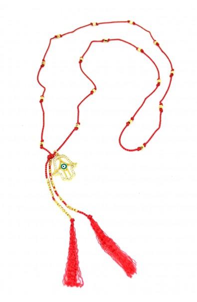 """Dámský náhrdelník SYMBOL - """"Fatima hand"""""""