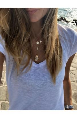 Dámský náhrdelník SYMBOL - medailon MADONNA