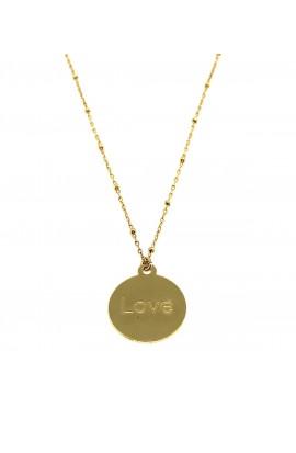 Dámský náhrdelník SYMBOL - destička LOVE