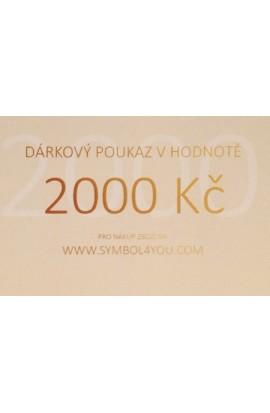 Dárkový poukaz SYMBOL 2000,-