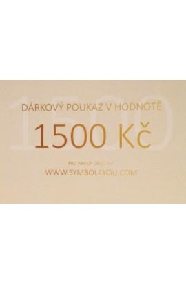 Dárkový poukaz SYMBOL 1500,-