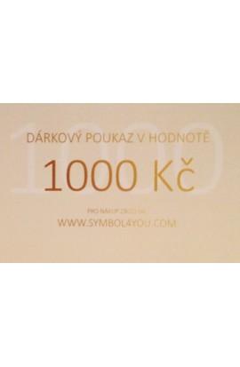 Dárkový poukaz SYMBOL 1000,-