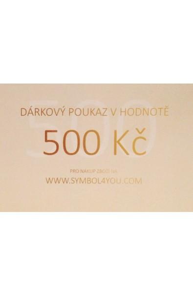 Dárkový poukaz SYMBOL 500,-