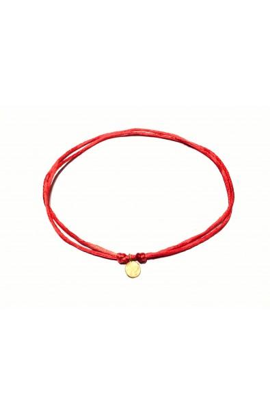 Dámský náhrdelník SYMBOL - červený