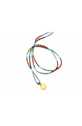 Dlouhý dámský náhrdelník SYMBOL  z japonských korálků