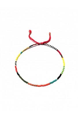 Dámský šperk na nohu SYMBOL - barevný mix