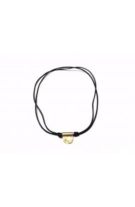 Dámský náhrdelník SYMBOL - kožený černý